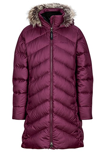 Marmot Girls Montreux Coat, Dark Purple, Medium by Marmot