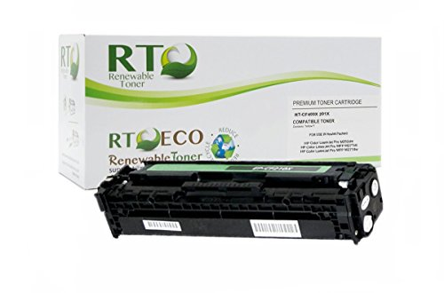 Renewable Toner CF400X 201X Black Compatible Toner Cartridge for HP Color LaserJet Pro MFP M277n M252 Series