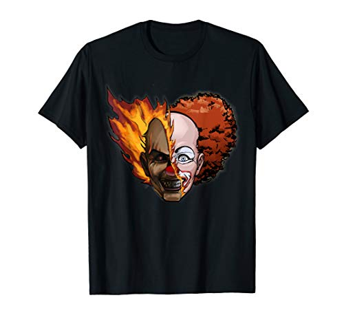 Scary Clown Outfit Ideas (Scary Clown T-Shirt)