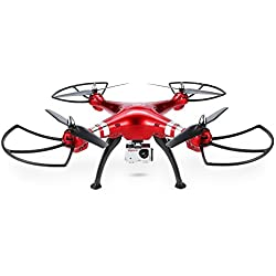 Syma X8HG 8.0 MP HD Camera Drone with Altitude Hold & Headless Mode