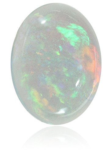 Ethiopian Opal 8x6mm Oval Cabochon Loose Gemstone by Amazon Collection