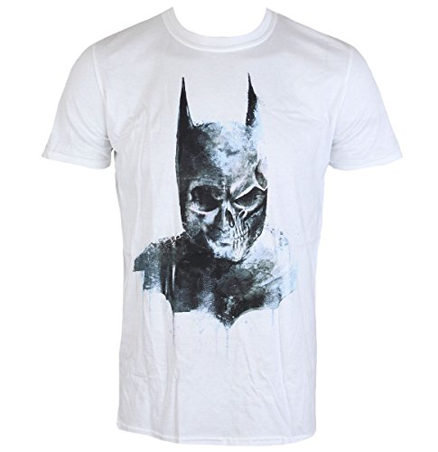 Film T Shirt Mens Batman   Gothic Skull   Live Nation   Pe14357tsw Xl