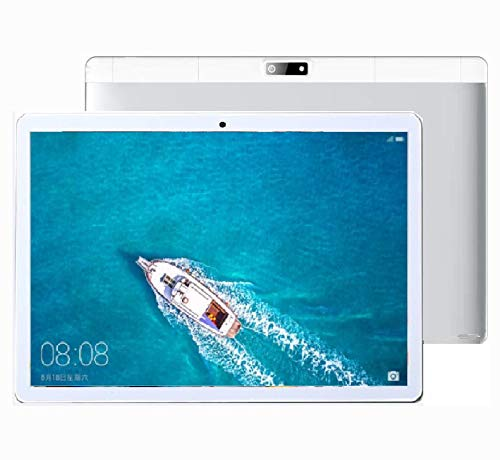 Tablette Tactile 10 Pouces TEENO Ecran 10.1 Tablet PC Android Doule SIM Double Camé ras 1GB+16GB, Blanc
