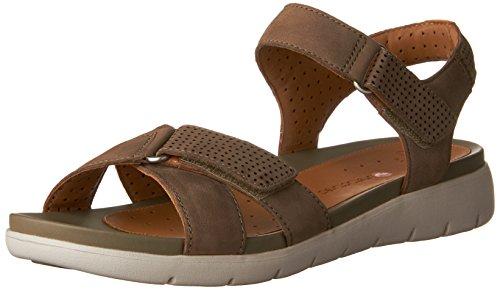 Clarks Womens Un Saffron Walking Sandal Sage Nubuck ZRj5Uh51w5