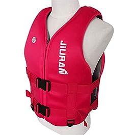 TeeFly Gilet de Sauvetage, Gilet de Sauvetage réglable pour Enfants, Gilet de Sauvetage en néoprène pour Kayak, Gilet de…