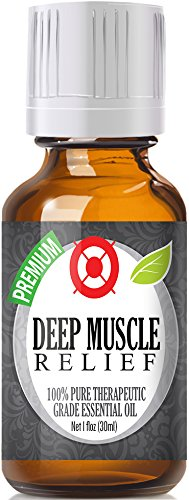 Deep Muscle Relief - 100% Pure, Best Therapeutic Grade Essential Oil - 30ml - Camphor, Eucalyptus, Lavender, Peppermint, Rosemary and Wintergreen