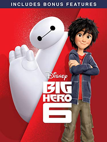 Big Hero 6 (Plus Bonus Features) (Big 6)