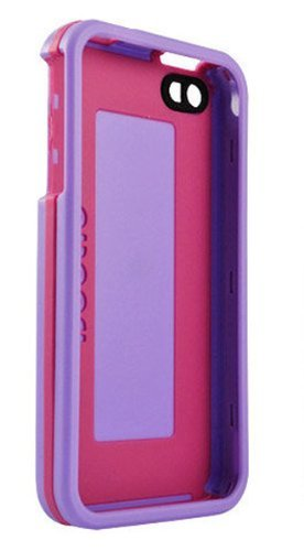 AGF Beetle Case for iPhone 4, Lilac/Magenta