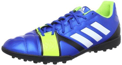 ADIDAS Chaussures de football Nitrocharge 3.0 TRX TR pour Junior, Bleu/Noir/Blanc, 46