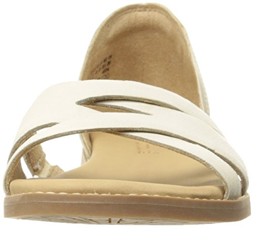 Timberland Womens Caswell Closed-Back Sandal Off White Antique