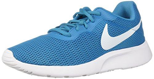 Nike Women's Tanjun Running Shoe Neo Turq/White 6