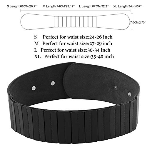 JASGOOD-Womens-Fashion-Vintage-Wide-Elastic-Stretch-Waist-Belt-With-Interlock-Buckle