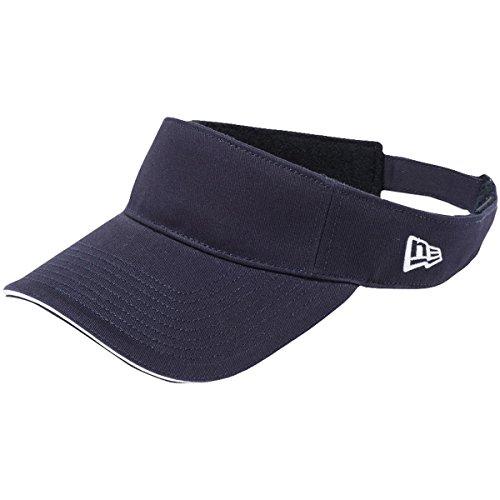 セーブペナルティ脱臼するニューエラ NEW ERA 帽子 SANDWICH サンバイザー ネイビー フリー