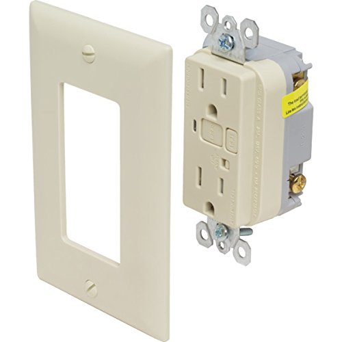 Legrand? GFCI 20 Amp Receptacle And Alarm White