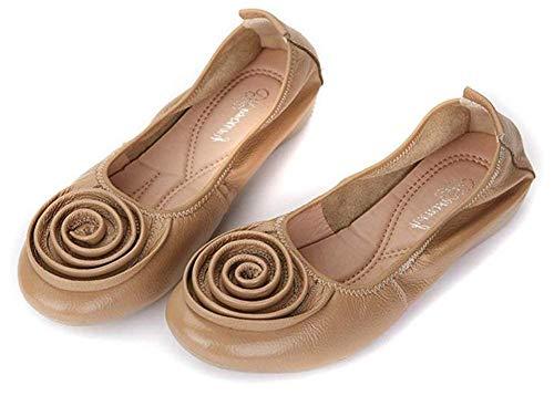 Montré Abricots Chaussures Travail Taille Fuxitoggo Montré Comme Plates coloré Unique 38 De qPHxExwId