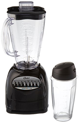 Oster Blender 6 Cup Capacity 10 Speed Black (Blender Black Sunbeam)