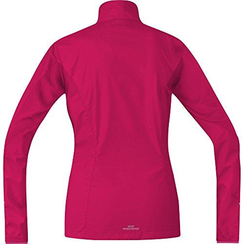 Partial Pink Wear 100081 Fucsia Chaqueta Windstopper Mujer Jacket R3 Cortavientos Gore jazzy Women Para Correr a68qxwF
