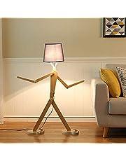 Minimalistisk golvlampa kreativ multifunktionell justerbar docka golv golvlampa för lampa vardagsrum sovrum matsal studie golvlampa, läslampa H110 cm E27 golvlampa svart