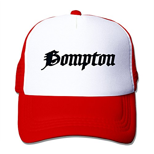 Bompton Hat: Bompton Unisex Trucker Baseball Mesh Cap Adjustable