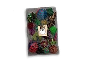 Grab bag assorted 20 pieces cat toys bag