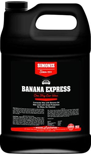 Banana Wax - Simoniz B1025001 Banana Express Wax, 1 gallon, 1 Pack