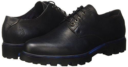 Blk Boots Assn 5 Femme Sue polo Uk blu 6 Chelsea Noir s black U blue vqfgf