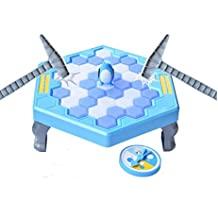IFUN HIGH Save The Penguin Trap Ice Breaker Penguin Ice Game Knock Ice Cube Game