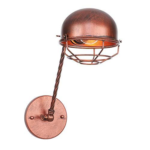 JING Vintage Lampe Murale RéGlable TéLescopique Pliage rougeatif Applique De Mur E27 Bras Long éClairage DéCoratif (110-240V, Ampoule Non Compris)