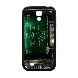 Pipboy Screen Pattern Plastic Case For Samsung Galaxy S4