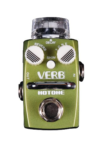 Hotone Skyline Series VERB Compact Digital Reverb Guitar Effects Pedal by Hotone