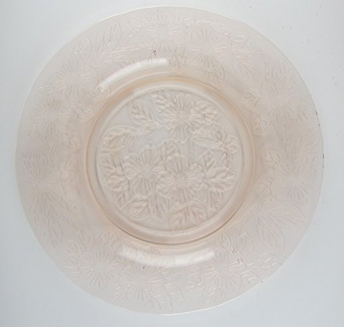 Macbeth-Evans Crystal DOGWOOD-PINK Dinner Plate