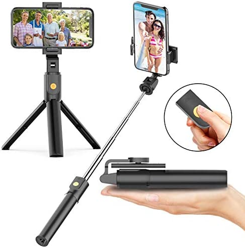 Selfie Tripod Bluetooth Wireless Extendable