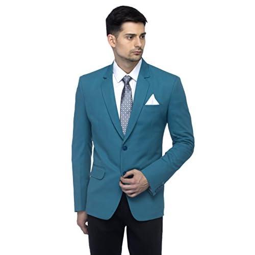 418q2Hw6p3L. SS500  - Favoroski Men's Blazers - Turkish Green