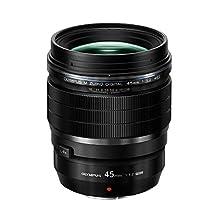 Olympus V311090BU000 F/1.2-16 Fixed Prime F1.2 Pro Lens, 45mm, Black