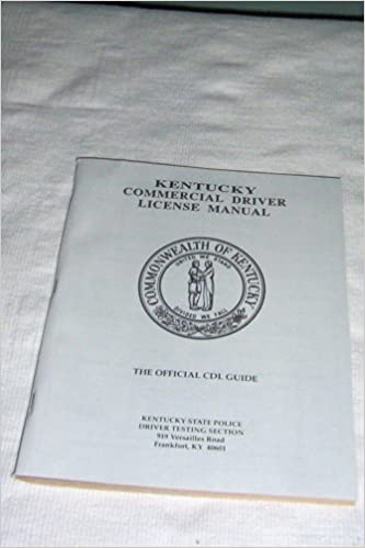 ky commercial drivers license manual