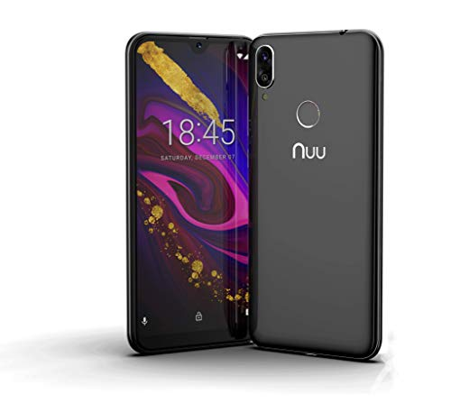 NUU Mobile X6-32GB + 3GB RAM LTE Android Unlocked Dual SIM Smartphone | 5.7' HD+ Display | Fingerprint | 13MP Camera