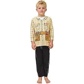Pijama de Obrero y Ropa Casera Divertida: Amazon.es: Ropa y accesorios