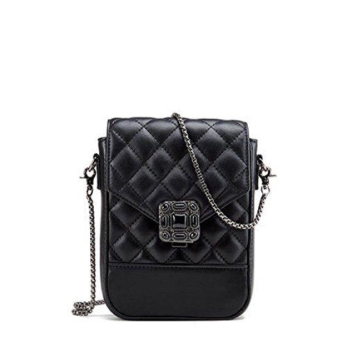 Bolsos De Mujer Bolsos Casual Ligero Bandolera Moda Messenger Bag Negro