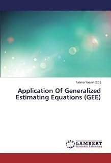 Amazon com: Generalized Estimating Equations (9781439881132