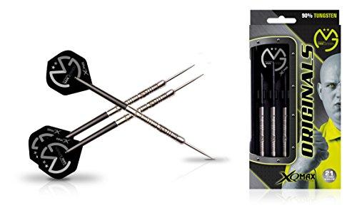 XQ Max Darts Michael Van Gerwen MvG Original 90% Tungsten 21gm Steel tip Dart Set