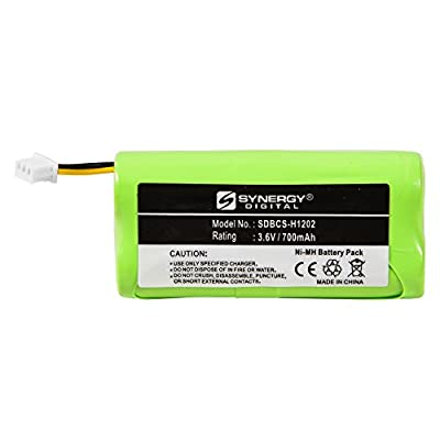 Symbol LS4278 Barcode Scanner Battery (Ni-MH, 3.6V, 700mAh) Battery - Replacement for Symbol - 82-67705-01, BTRY-LS42RAAOE-01 Batteries