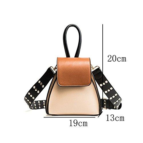 Bandoulière Diagonale Main Couleur Femmes Kaki Petit Sac Carré Paquet Dhfud À Fashion Kyokim Large Hit wTX0IqR