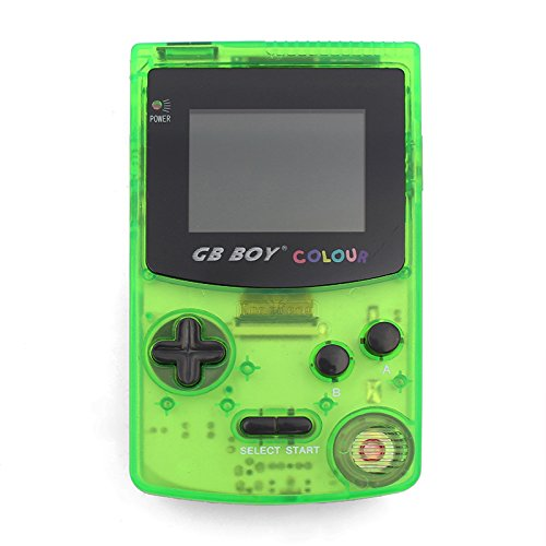gamebound-gb-boy-color-gameboy-handheld-game-console-27-backlit-screen-66-built-in-games-clear-green