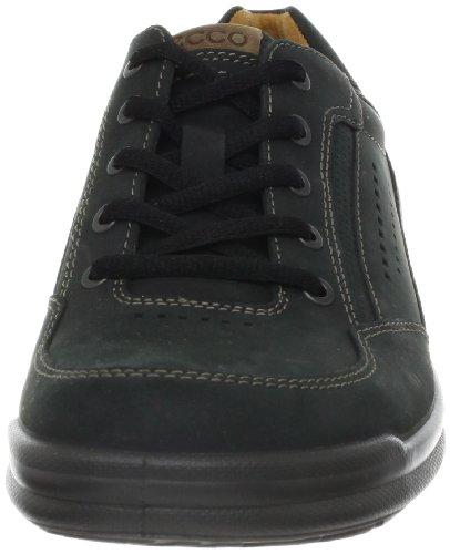 Ecco ECCO REMOTE - Zapatos con cordones de cuero hombre Negro (BLACK/WALNUT57751)