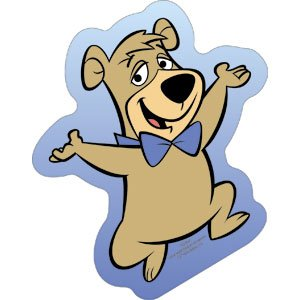 Licenses Products Hanna Barbera Yogi Bear Booboo Dance Sticker
