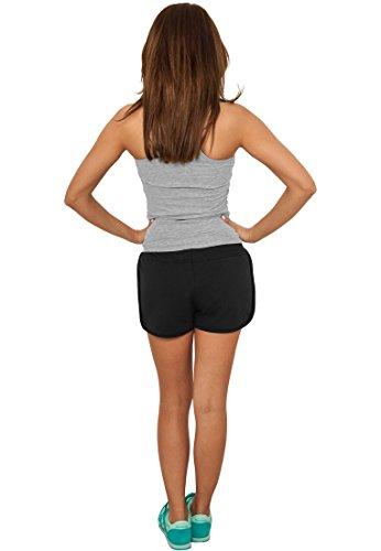 Urban Ladies Classics LUCE caldo pantaloni pile Nero 1q1rdF5