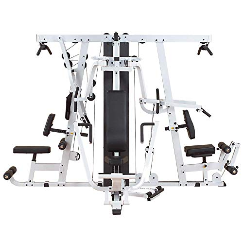 Body-Solid Triple-Stack Multi-Station Gym (EXM4000S) (Best Lower Pec Workout)