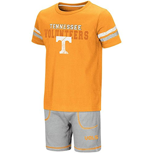 - Toddler Tennessee Volunteers Short Sleeve Tee Shirt and Shorts Set - 2T