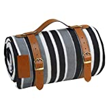 PortableAnd Extra Large Picnic & Outdoor Blanket for Water-Resistant Handy Mat Tote Spring
