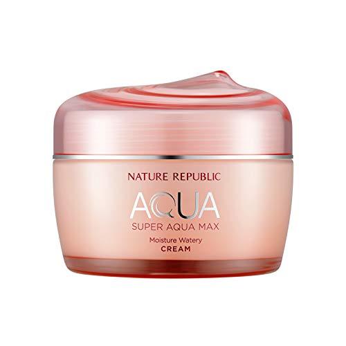 Nature Republic Super Aqua Max Moisture Watery Cream for Dry Skin, 80 Gram from Nature Republic